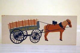 The Cats Meow Village 1998 Shrimplin And Jones Market Wagon #204 Shelf S... - $4.84