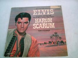 VINTAGE RCA Victor ELVIS PRESLEY - Harum Scarum Movie Soundtrack Record ... - $15.99