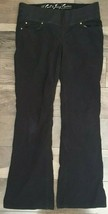 Juicy Couture Women's Black Jean Pants Stretch Cute Casual  Size 29 x 31 - $37.99