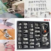 Professional Domestic Multi-function Sewing Machine Presser Foot  32PCS - $34.00