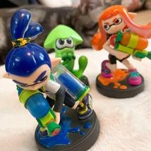 Nintendo Splatoon amiibo 3 setsSquid Boy Girl - $38.61