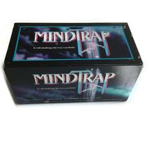 Mindtrap Vintage Card Game 1991 Edition Pressman Mind Challenge Thinking - $20.29