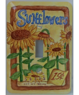 Sunflowers Deco Style AmerTac 1999 Single Toggle Metal New Unused Open Package - £7.70 GBP