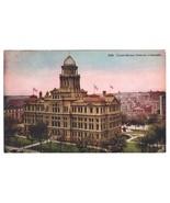 Postcard CO Denver Court House RPPC c1907 County Court House - $6.79