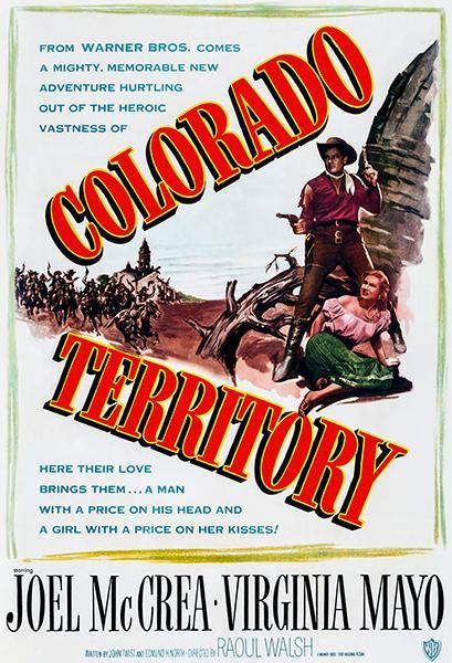 Primary image for Colorado Territory - 1949 - Movie Poster