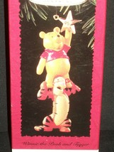 Hallmark Ornament 1995 Handcrafted Christmas Tree Winnie The Pooh And Tigger - $20.31
