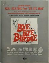 Bye Bye Birdie Vocal Selections Sound Track Leigh / Van Dyke / Ann-Margr... - $49.49