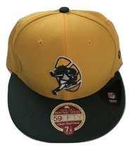 NWT New Green Bay Packers New Era 59Fifty Heritage Series Wool 7 1/8 Fit... - $21.00