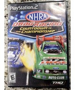 NHRA Drag Racing: Countdown to the Championship (Sony PlayStation 2) - T... - $9.03