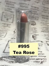 NICKA K NEW YORK NK LIPSTICK #995 TEA ROSE  SEMI MATTE FINISH - $1.48
