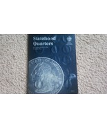 Statehood Quarters Whitman Filled Coin Holder Two 2002-2005 Folder and q... - $27.41