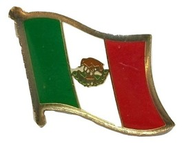 Mexico Flag Hat Tac or Lapel Pin - $6.84
