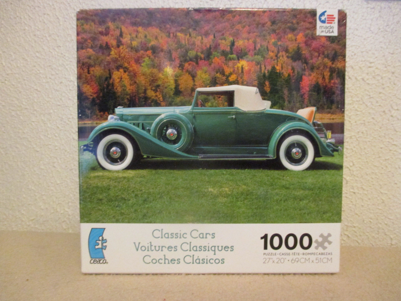 Classic Cars 1000 Piece Jigsaw Puzzle Ceaco and 50 similar items