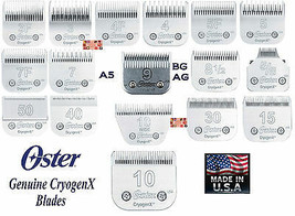 Oster Cryogen-X Blade Fit A5,A6 Andis Ag Agc Bg,Many Wahl,Moser,Laube Clipper - $31.11+