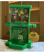Green M&M's World Zig Zag Candy Candies Dispenser New w Tags Makes Great... - $32.73