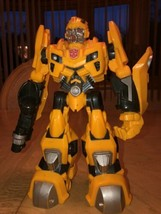 "Bumblebee Transformer 2009 Hasbro 10"" Talks and Lights Up EUC image 2"