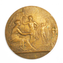 France Concours De Tir B 50mm Bronze Medal A.D. - $39.59