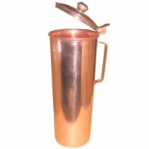 An item in the Sporting Goods category: Pure Copper Water Bottle easy to open & close with thumb support-750 ml