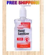 Assured Hand Sanitizer 8 oz Pump Bottle, New 70% Alcohol Free Shipping - $9.90