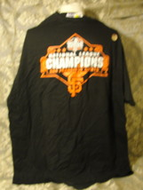 San Francisco Giants 2010 National League Champions black T-shirt NEW!!! - $14.20