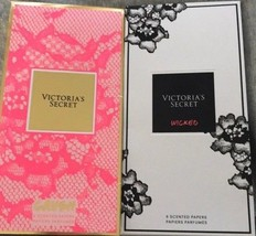 Victoria's Secret CRUSH and Wicked Pack Of 6 each Scented Papers Sealed New - $11.77