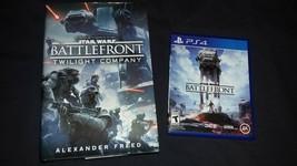 Star Wars BattleFront Bundle PS4 Game and Star Wars BattleFront Twilight... - $15.99