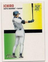 2004 Topps Heritage New Age Performers #NAP2 Ichiro Suzuki Mariners - $4.00