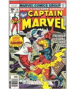 Captain Marvel Comic Book #51 Marvel Comics 1977 FINE - $5.94