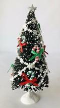Dollhouse Miniature Christmas Tree 1:12 Artisan OOAK Bottlebrush Fun Fan... - $57.09