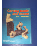 Carving Book:  'Carving Books and Shoes With Larry Green' - $5.93