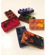 Recycled Crayon: Lego Brick (Small) - $2.00