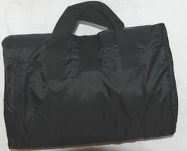 Unbranded Stadium Picnic Fleece Nylon Waterproof Blanket Royal Blue Black image 2