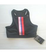 Nike Women Gym Elastic Sports Bra - BV0646 - Black 010 - Size L - NWT - $33.99