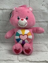 "Care Bears Hopeful Heart Bear 10"" Pink Plush Stuffed Animal Collector's ... - $12.16"