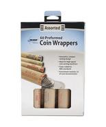 Nested Preformed Coin Wrappers 60/Pkg-Penny, Nickel, Dime & Quarter - $3.29