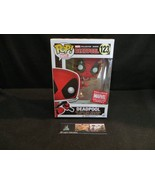 Marvel Collectors Corps exclusive Deadpool Box Funko POP Deadpool leapin... - $47.49