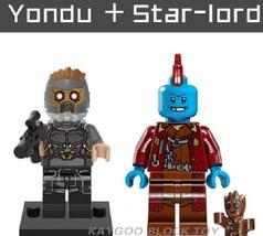 Superhero Compatible Legoinglys Yondu + Star-lord Building Block Toy - $1.75