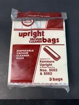 Dvc Kenmore Canister # 5002 & 5062 Vacuum Bags - $6.00