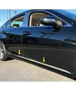 """fit:2019-2020 Lexus ES350 ES300 4Pc Stainless Body Side Molding Trim 1"""" ... - $104.99"""
