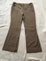 MOSSIMO womens graish brownish dress pants SIZE 14 NICE! - $11.71