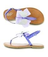 Jojo Siwa Angel Wings Purple Sandals Girls Sz 5 for 8 + years old. - $36.62