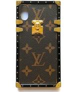 Vintage Trunk Luxury Monogram For IPhone. Handmade With Premium Silicon... - $57.97