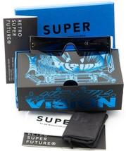 NEW RETROSUPERFUTURE RLF /3/N8/R BLACK /BLACK LENS SUNGLASSES 50-20-135m... - $163.34