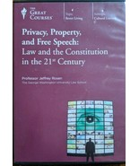 Great Courses- Privacy, Property, and Free Speech: Law & the Constitution - $44.95
