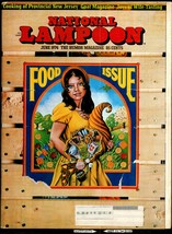 National Lampoon #51, Jume 1974 - Food Issue,  - $12.20