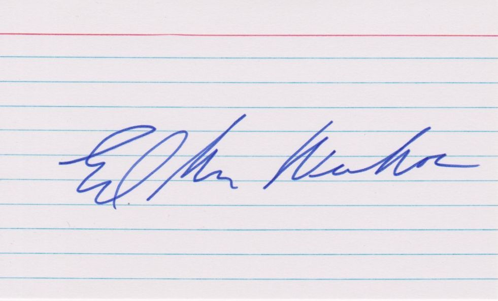 Ed McMahon Signed Autographed 3x5 Index Card - COA Holograms - $9.99