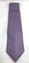"""Robert Talbot Purple Vintage Necktie Tie 64"""" 163cm 4"""" 10cm 100% Silk Squ... - $55.43"""
