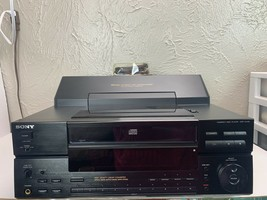 Vintage Sony CDP-CX100 Disc CD Player Changer  **No Remote** - $82.24