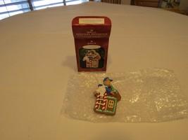 DAD gingerbread house 1998 father RARE Christmas Hallmark Keepsake Ornam... - $16.03