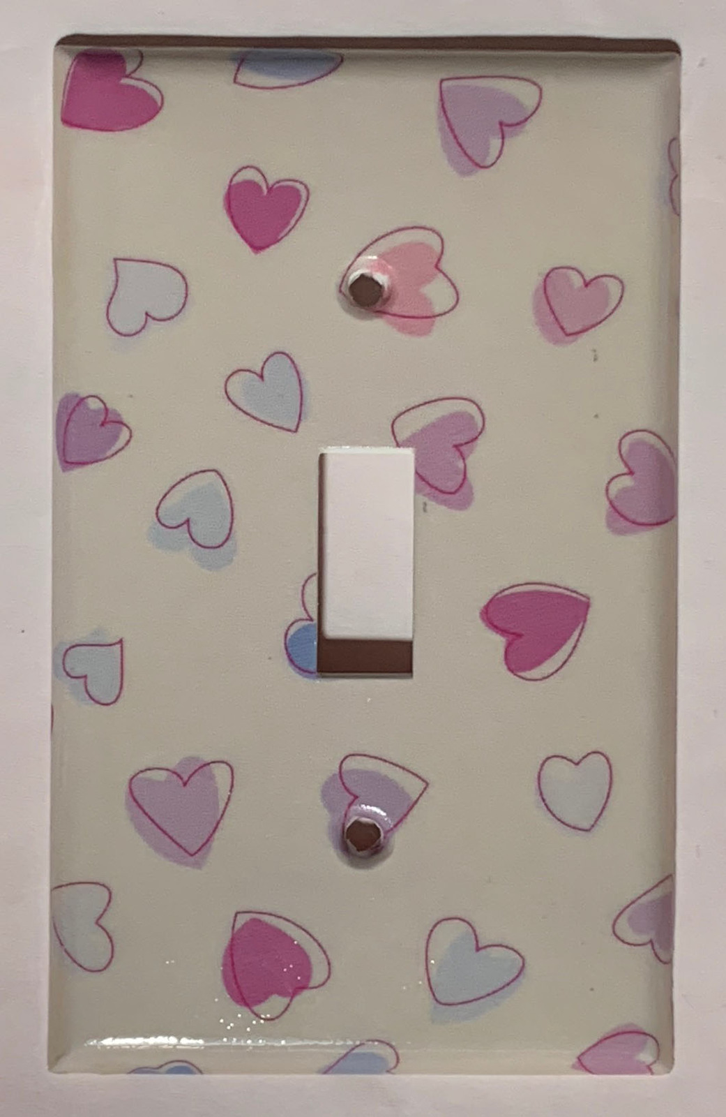 Heart Shape Love Catch Light Switch GFI Power Outlet wall Cover Plate Home Decor